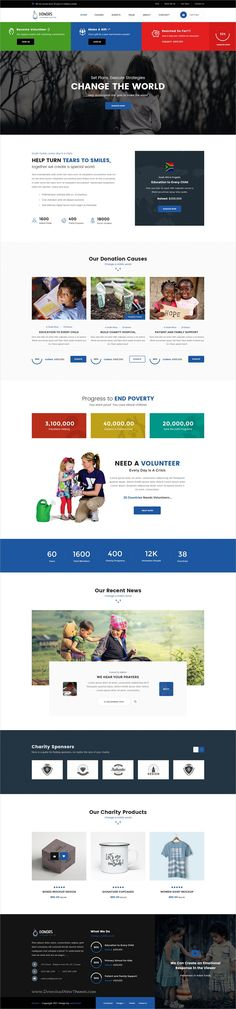 Donors is unique and modern #design PSD template for charity, #NGO, Nonprofit #organization and charitable trusts website with 28 layered PSD files download now > https://themeforest.net/item/donors-multipurpose-nonprofit-psd-template/19828932?ref=Datasata