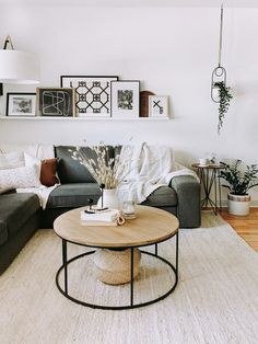 Check out this Modern, Earthy, Minimal, Cozy Small/Cool Space Earthy Living Room, Living Room Carpet, Small Living Rooms, Living Room Modern, Rugs In Living Room, Living Room Designs, Living Room Decor, Bedroom Small, Bohemian Living