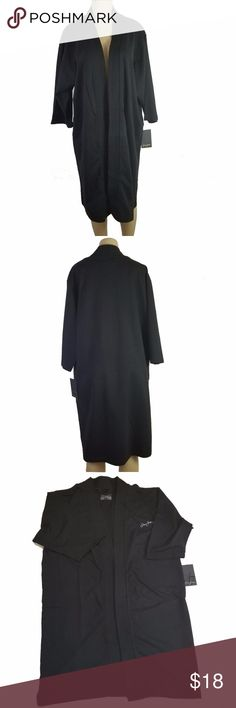 "New Sean John Unisex Black Robe One Size New Sean John Unisex Black Robe One Size Material: 100% cotton Measurement laying flat- approx Length: 42.5"" Armpit to armpit: 24"" Hem: 26"" *** This item missing belt LJ3106  - Comes from a smoke free and pet free home! Thank you for visiting my closet, please let me know if you have any questions and we can work on it❤ Sean John Intimates & Sleepwear Robes"