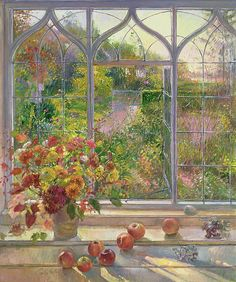 Autumn Windows by Timothy Easton