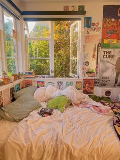 Dream Rooms, Dream Bedroom, Room Ideas Bedroom, Bedroom Decor, Bedroom Inspo, Bedroom Inspiration, Indie Room Decor, Indie Bedroom, Trendy Bedroom