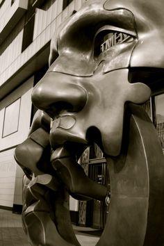 Sculpture art in Busan