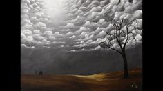 In this video, we're gonna get together and learn how to paint a semi-surreal landscape with a sky full of clouds. This is a good lesson for beginners on up!...