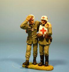 Orig. Lineol (Elastolin) Wehrmacht – Gerettet – 7cm Serie