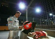 Michael Schumacher (credits:Robert Cianflone /Getty Images)