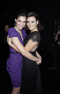 People's Choice Awards Photos: 15. Daniela Ruah ✾ & Cote de Pablo ✾ share an embrace. on CBS.com