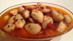Linda´s Goda: Inlagda vitlöksklyftor med chili och örter