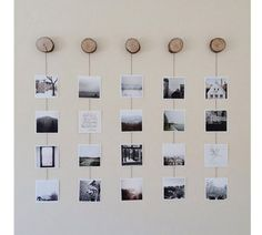 Beautiful Polaroid Photos Display Idea (84)