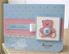 card with teddy bear #bearcard