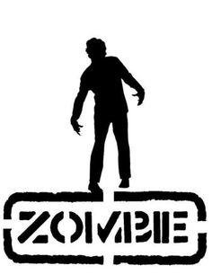 stencil zombies - Buscar con Google