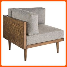 INKIVY Stanton Square Corner Left Or Right Taupe See below - Improve your home (*Amazon Partner-Link)