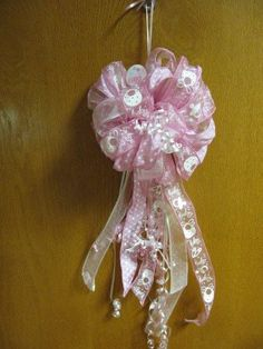 It's a Girl   Bows by: Grandmama