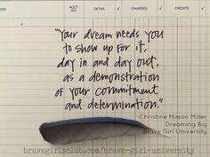 Dreaming Big by Christine Mason Miller