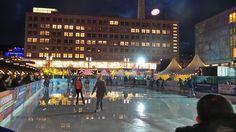 The Christmas Market at Alexanderplatz.