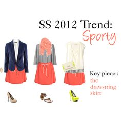 SS 2012 Trend : Sporty by hii-live on Polyvore featuring мода, Graham & Spencer, Organic by John Patrick, H&M, Paul Smith, Qupid, Kenneth Cole, Michael Antonio, River Island and Mantaray