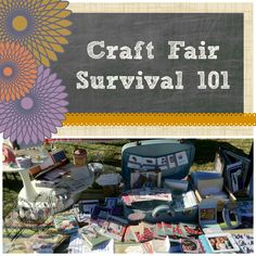 Craft Fair Survival - Lessons from my first craft fair #Crafts #CTMH #craftfair #craft #fair #cards