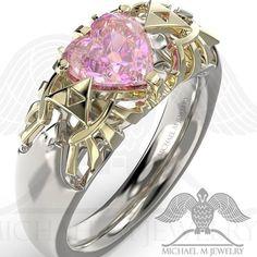 #zelda #game #engagementrings  #zeldaring #zeldanation #gift #geek #silverring #wedding #zeldaheartring  #Freeshipping @ Michaelmjewelry.com
