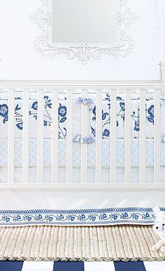 This nursery is so pretty.