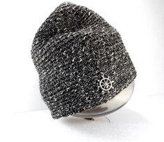Mützen - Gehäkelte Mütze für Männer mit Steuerrad - ein Designerstück von BeaBaltic bei DaWanda