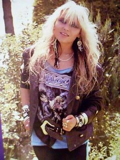 Doro Pesch- Warlock/Doro….she was, without a doubt, the most down to earth, approachable, warm, genuine & friendliest rocker I have met.