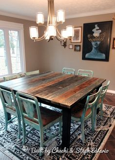 distressed pale blue shabby table and chairs forgotten finds rh pinterest com