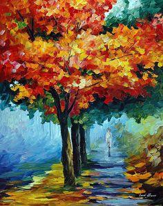 Autumn Music by Leonid Afremov by Leonidafremov