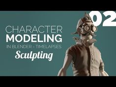 Character Modeling in Blender - Introduction In this video series I will show you the full modeling process leading to the creation of the character of one of my renders 'Atomic Delivery' , from a concept by Sergi Brosa. Blender 3d, Blender Models, Character Creation, 3d Character, Character Concept, Blender Character Modeling, Character Design Tutorial, Blender Tutorial, 3d Video