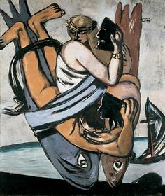 Max Beckmann, Journey on the Fish, 1933