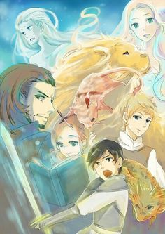 The Chronicles of Narnia: Voyage of the Dawn Treader+anime ^_^