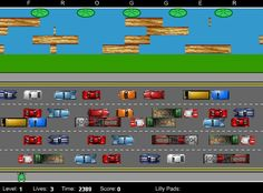 Frogger...I wish I could get these old video games!