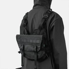 Introducing // AC203 Chest Rig  > Featured 2 Zip Pockets. > Compatible with M100/MOD201/MOD301/MOD101/MOD103 and other MOLLE/PALS system accessories. > Elastic Bridge for Flexible Fit.  May 18th 21.45 ( 9.45 PM Jakarta Time )  Handmade in SMALL BATCH at our in-house studio in #Jakarta #Indonesia.  #chestrig #orbitgear #everydaycarry #streetwear #techwear #technical #handmade