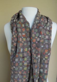 Contingence scarf — French Needlework Kits, Cross Stitch, Embroidery, Sophie Digard — The French Needle