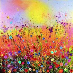 Yvonne Coomber - Giclee Limited Edition prints - You Make My Heart Sing Painting & Drawing, Watercolor Paintings, Oil Paintings, Cartoon Flowers, Flower Landscape, Mosaic Diy, 5d Diamond Painting, Cross Paintings, Oeuvre D'art