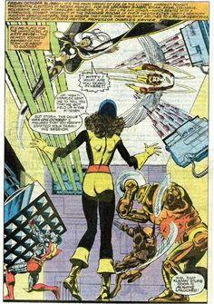 The Danger Room. (X-Men Vol.1 #141)