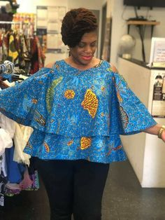 African Blouses, African Tops, African Wear, African Attire, Best African Dresses, Latest African Fashion Dresses, Ankara Skirt And Blouse, Ankara Dress, African Fashion Traditional