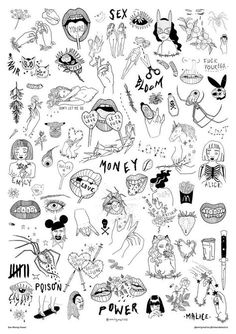 Tattoo designs drawings sketches symbols 70 Ideas