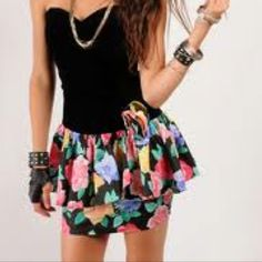 LOL I think I had this dress but it was a tank style