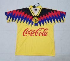 1994 Cheap Jersey Club America Home Replica Football Shirt [AFC580]