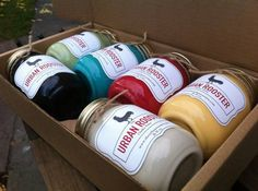 The Urban Rooster Paint Collection. Order at www.theurbanrooster.com