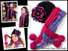 handmade hats & scarfs by Basia's Hat Factory / http://arbillabasia.wix.com/basiashatfactory