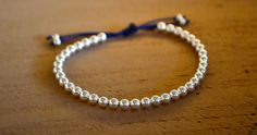 The Perfect Christmas Present - Sterling Silver Bracelet by MillieMollyMango on Etsy, £15.00