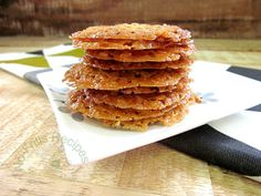 Lace Almond Cookies