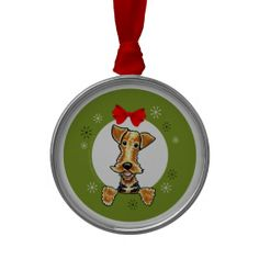 >>>Smart Deals for          Airedale Wreath Ornaments           Airedale Wreath Ornaments Yes I can say you are on right site we just collected best shopping store that haveThis Deals          Airedale Wreath Ornaments Review from Associated Store with this Deal...Cleck See More >>> http://www.zazzle.com/airedale_wreath_ornaments-175656991172856598?rf=238627982471231924&zbar=1&tc=terrest