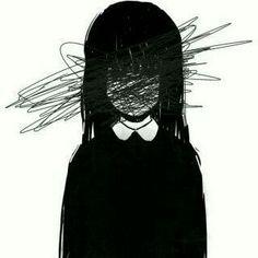 Dark Art Illustrations, Dark Art Drawings, Art Drawings Sketches, Sad Anime Girl, Anime Art Girl, Dark Anime Art, Anime Girl Crying, Aesthetic Art, Aesthetic Anime
