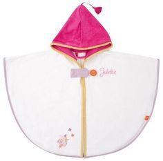 Personalized Ladybug Hooded Bath Towel Ecru - PetitePeople, Hooded Bath Towel