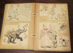 Teens to 1920s Rose O'Neill Kewpies Scrapbook  by dandelionvintage, $80.00