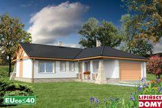Lipińscy Domy Projekt: Walencja Energy Projects, Garage Doors, Cabin, Mansions, House Styles, Outdoor Decor, Home Decor, Cabins, Luxury Houses