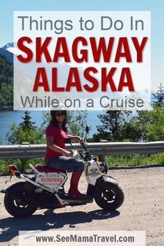 Looking for tips on what to do while in port in Skagway Alaska? Get the best information on excurisions, things to see, places to eat and what not to miss when you spend a day in port on your Alaskan Cruise. Your complete travel guide for Skagway! Best Cruise, Cruise Port, Cruise Travel, Cruise Vacation, Disney Cruise, Cruise Packing, Cruise Ships, Travel Trip, Travel Hacks