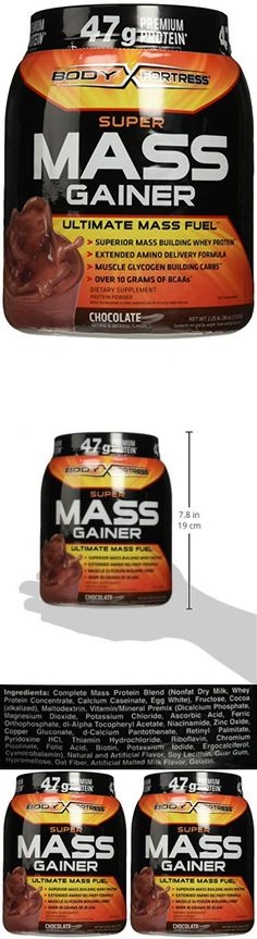 Body Fortress Super Mass Gainer, Chocolate, 2.25 Pounds (2-jars)
