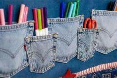 Riciclo jeans, multitasche